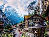 Wasserfalltal, Schweiz