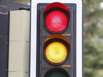 Traffic education traffic light - Puzzle about traffic education