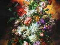 Flori frumoase colorate