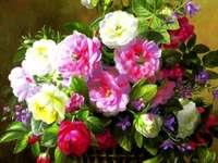 Цветя от коша
