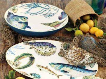 Fruit dish plates - Fruit dish plates