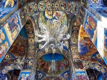 Russian orthodox church - Russian Orthodox church in the majesty of detail