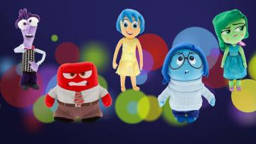 inside out puppets emotions - inside out emotions puppets for children