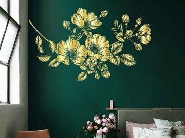 Chambre aux couleurs sombres - Disposition des chambres, verdure