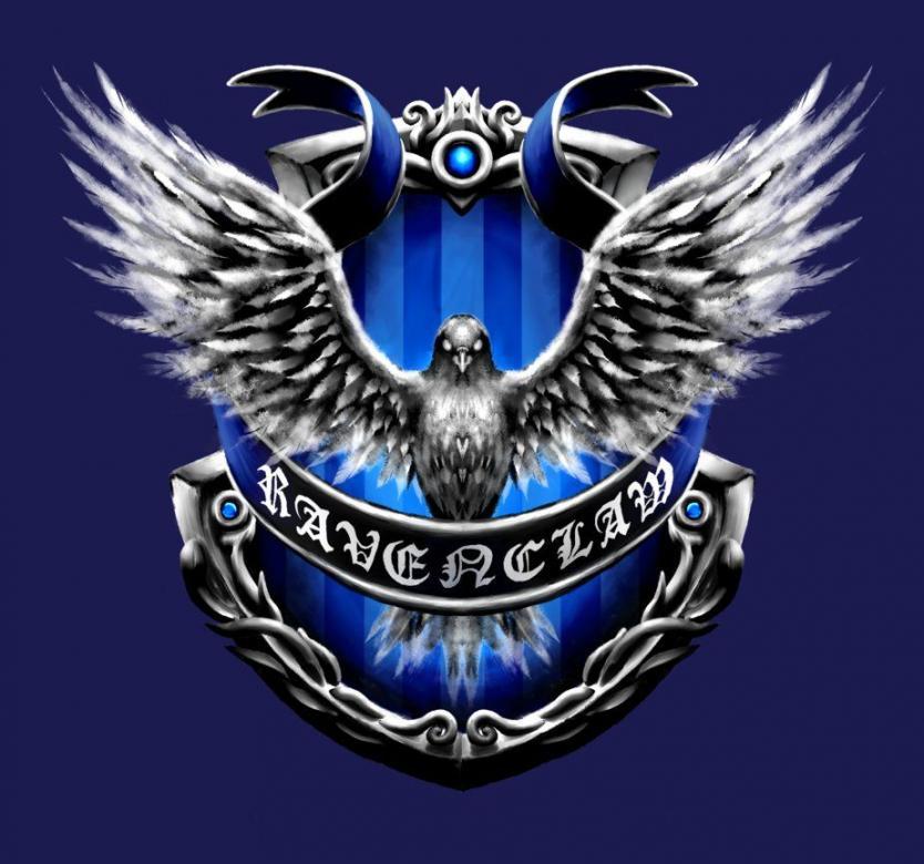 Ravenclaw-Rätsel - Dies ist ein Puzzle von Ravenclaw, einem Haus aus dem Buch und der Verfilmung von Harry Potter (15×10)