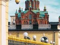 Igreja Catedral em Helsinque, Finlândia