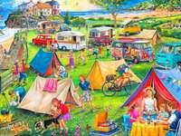 Camping - Nous organisons un camping.