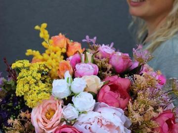 Fleurs pour un cadeau - Coffret cadeau de fleurs