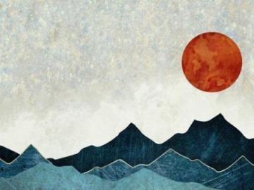 Salon sur le thème de la montagne - Agencement du salon, thème montagne