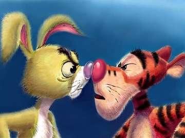 Winnie the Pooh - Tigre di coniglio di Winnie the Pooh