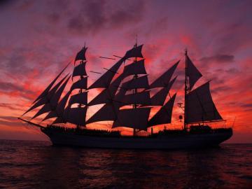Cuauhtemoc - Mexican Navy Training Ship - Cuauhtemoc is a sail training vessel of the Mexican Navy, named for the last Mexica Hueyi Tlatoani C