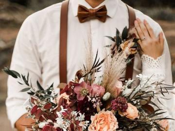 Bouquet de mariage - Bouquet de mariée tonique, puzzle fleurs