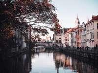 De stad Gent in België