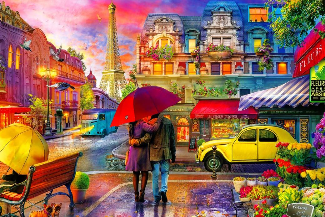A romantic date - We are arranging puzzles romantic date.