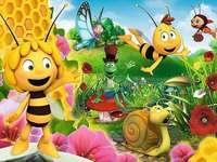 Pszczolkamaja - Maya el rompecabezas del paisaje de abejas