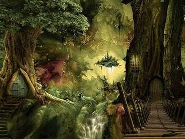la forêt enchantée - la forêt enchantée