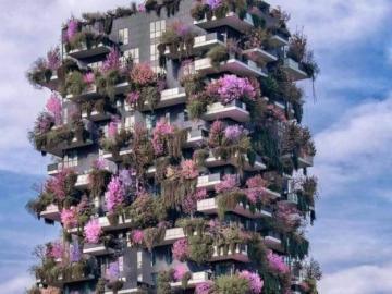 Gratte-ciel en fleurs - Gratte-ciel en fleurs