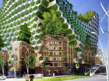 Merveille verte - Une merveille verte dans la ville