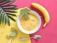 Σούπα μπανάνας