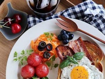 Delizioso cibo a base di uova - Delizioso cibo a base di uova