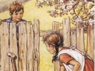 Copak si chlapec a dívka asi povídají  - Copak si chlapec a dívka asi povídají