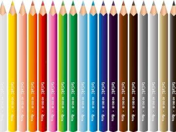 Crayons de couleur. - Puzzle pour enfants. Crayons de couleur.