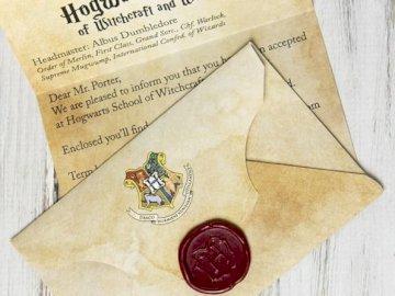 Hogwarts Brief - Es ist ein Hogwarts-Brief, der eher als Harry Potter bezeichnet wird