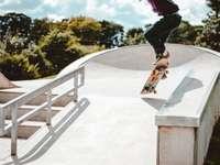 Skateparki są moimi ulubionymi