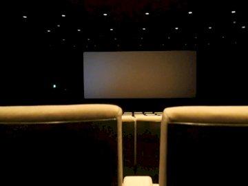 Un cine en los países bajos - Foto de asientos vacíos del teatro. Groninga