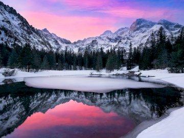 Paysage d'hiver - Paysage d'hiver, belle nature