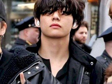 zanger tae de bts - is een Koreaanse BTS-zanger