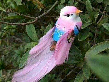 ładny różowy ptak - To słodkie zwierzę ,,,,,,,,,,,,,,,,,,,,,,