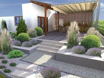 ogród...... - Przytulny ogródek