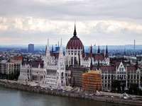 Budapeszt-Węgry-ogólny widok - Budapeszt-Wegry-widok na    Parlament