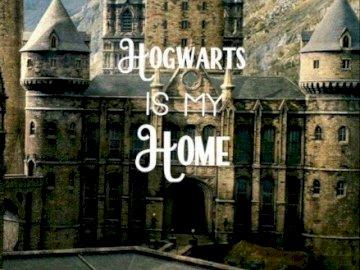 Hogwarts College - Es ist ein Bild des Hogwarts College of Harry Potter Filme