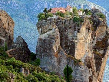 Meteora-Grecia - Grecia-Monastero di Meteora