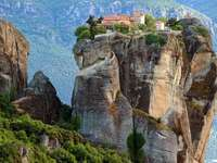Meteory-Grecja - Grecja-Meteory Klasztorne