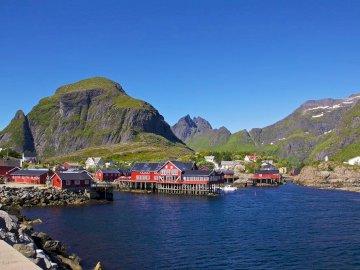 Panorama della Norvegia - Panorama della Norvegia - bellissimo paesaggio