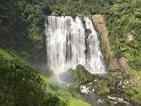 Waterfall in Te Anga, - Waterfalls during daytime. Hong Kong