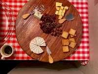Bandeja de queso - Merienda en Egipto, bandeja de queso