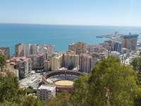 Панорама на Малага