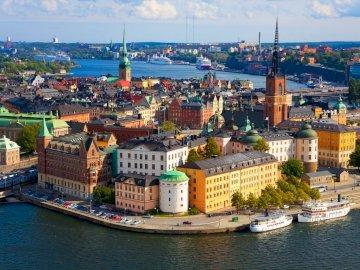 Svezia-Stoccolma - Svezia, capitale, Stoccolma