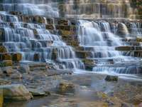 Albion falls in the fall! - Waterfalls photography.