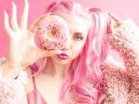 Quinta-feira gorda rosa