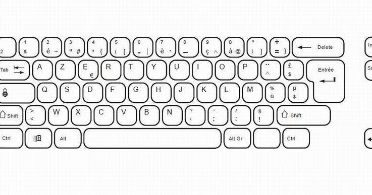 bigoudidi - teclado de computador teclado de computador teclado de computador (17×9)