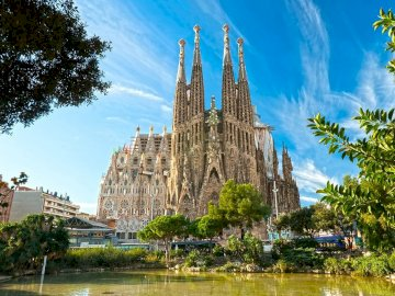 Spagna-Barcellona - Barcellona-Spagna-incredibile edificio