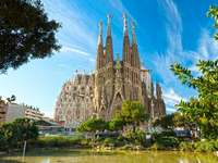 Spagna-Barcellona - Barcellona-Spagna-incredibile edificio