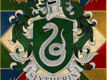 Eines der vier Häuser von Hogwarts - Es ist eines der vier Hogwarts-Häuser der Harry-Potter-Saga