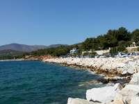 Panorama de l'île - L'île de Thassos - l'heure des vacances paresseuses