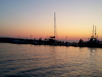 Sunset - Greek island of Thassos - sunset